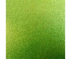Glitter-kartong A4, 220g/m² - Teal