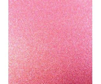 Glitter-kartong A4, 220g/m² - Pink