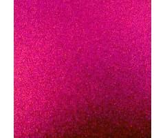 Glitter-kartong A4, 220g/m² - Cerise