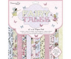Motiivpaberite plokk Dovecraft 30x30cm, 36 lehte - Fairy Tales