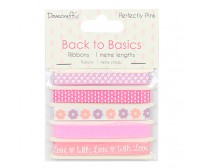 Paelte komplekt Back to Basics 5 x 1m - Perfectly Pink