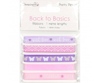 Paelte komplekt Back to Basics 5 x 1m - Pretty Petals