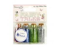 Glitterpurude komplekt Dovecraft, 4x15g - Fairy Tales