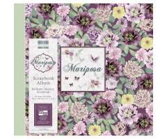 Scrapbooking album 30.5x30.5cm, 20 lehte - Mariposa Flowers