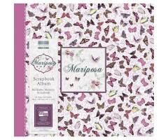 Scrapbooking album 30.5x30.5cm, 20 lehte - Mariposa Butterflies