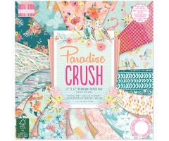 Motiivpaberite plokk First Edition 30x30cm, 48 lehte - Paradise Crush