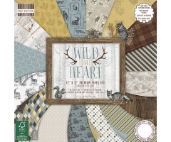Motiivpaberite plokk First Edition 30x30cm, 48 lehte - Wild at Heart