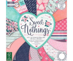 Motiivpaberite plokk First Edition 30x30cm, 48 lehte - Sweet Nothings