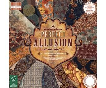 Motiivpaberite plokk First Edition 30x30cm, 48 lehte - Perfect Allusion