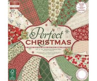 Motiivpaberite plokk First Edition 30x30cm, 48 lehte - Perfect Christmas