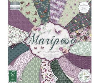 Motiivpaberite plokk First Edition 30x30cm, 48 lehte - Mariposa