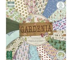 Motiivpaberite plokk First Edition 30x30cm, 48 lehte - Gardenia