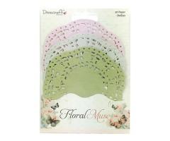 Paberist lõiked pitsäärega, 30 tk - Floral Muse