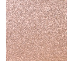 Glitter-kartong A4, 220g/m² - Light Rose Gold
