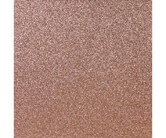 Glitter-kartong A4, 300g/m² - Dark Rose Gold