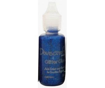 3D glitterliim Dovecraft 20ml - sinine