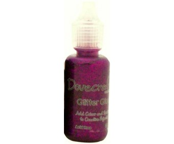 3D glitterliim Dovecraft 20ml - lilla