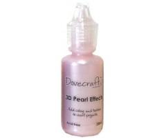 3D pärlipliiats Dovecraft 20ml - roosa