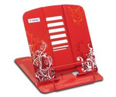 Raamatuhoidja Herma, metallist - punane