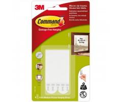 Kinnituskrõpsud pildiraamile 3M Command - 4 paari