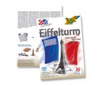 3D pusle Folia, 35 osa - Eiffeli torn