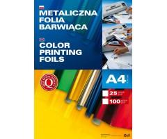 Fooliumtrüki foolium (Foil Stamping) A4, 25 lehte - hõbedane
