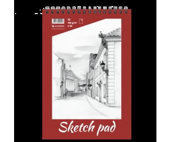 Visandiplokk Sketch Pad 190 g/m², 30 lehte - A5