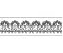 Washi teip Folia 15mm x 10m - hall pits valgel
