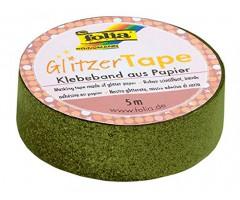 Sädelev teip Folia Glitzer - heleroheline