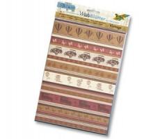 Isekleepuv Washi paber Folia - vintage