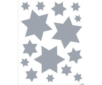 Aknakleebis Herma - Hõbedased tähed