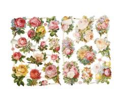 Paberilõiked Die-Cuts - roosid