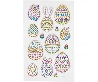 Kleebis kivikestega - munad