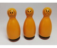 Mini kummitemplid Heyda, 3 tk - Emotsioonid