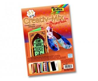 Meisterdamiskomplekt Folia Creative Mix - Oriental