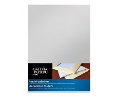Ümbrik A4, metallik hõbe, 5tk pakis, Galeria Papieru