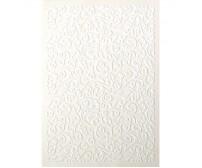 Dekoratiivpaber Galeria Papieru Samet A4, 5 lehte, 220g/m² - Folk White