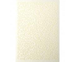 Dekoratiivpaber Galeria Papieru Samet A4, 5 lehte, 220g/m² - Folk cream