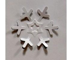 Motiivauguraud 32 mm - 3D lumehelves 4006