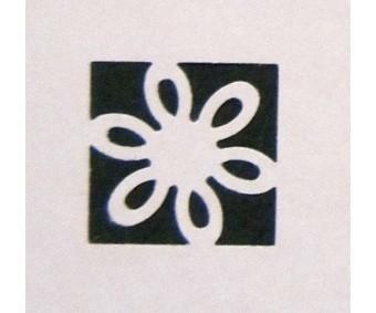 Motiivauguraud 32 mm - lilleõis 6005