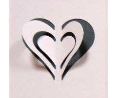 Motiivauguraud Wedo 3D - süda