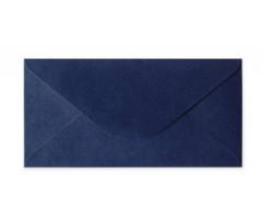 Ümbrikud  Pearl Navy Blue  DL /110x220mm/ 100g/m2 - 10 tk pakis