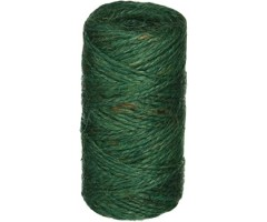 Jutenöör roheline (džuut) 2,5mm, 40m