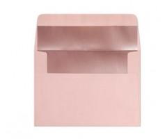 Ümbrikud  Heleroosa, sisu läikiv roosa, C6 /114x162mm/ 120g/m2   10 tk pakis