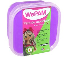 Modelleerimismass Cleopatre WePAM 145g - violetne
