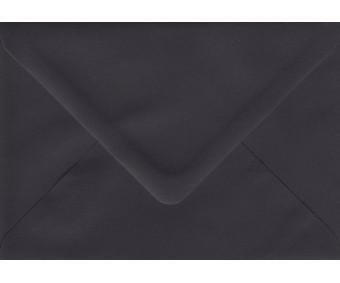 Ümbrik värviline C6 - must, 10 tk