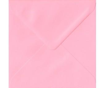 Ümbrik värviline 15.5x15.5cm - heleroosa, 10 tk