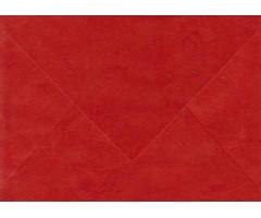 Ümbrikud Nepaali paberist C6 - punane, 10tk