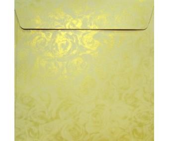 Ümbrikud Galeria Papieru 158x158mm - Roses Cream, 10 tk