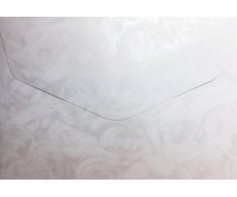 Ümbrikud Galeria Papieru 88x125mm - Roses White, 10 tk